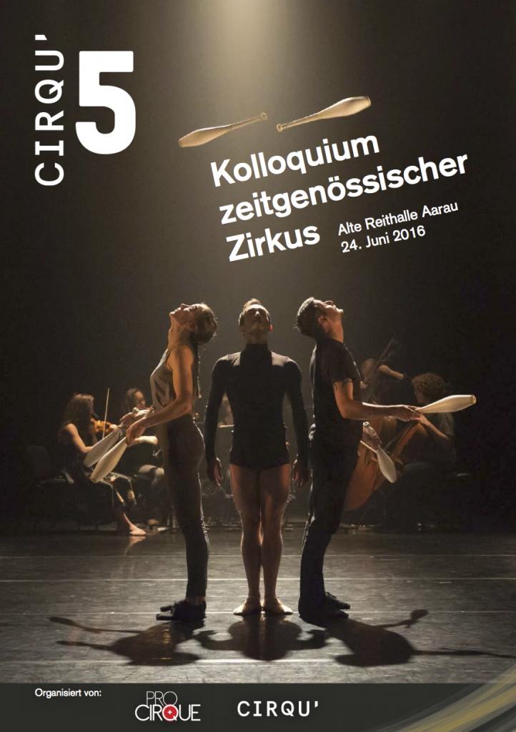 Kolloquium zeitgenössischer Zirkus (Aarau 2016)