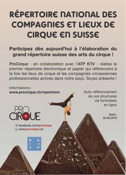 Répertoire des lieux du cirque et des compagnies de cirque
